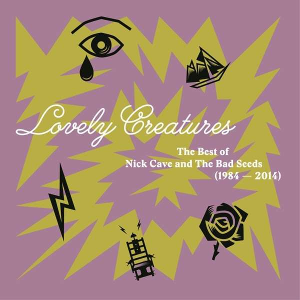 Cover NICK CAVE & BAD SEEDS, lovely creatures - best of 1984-2014
