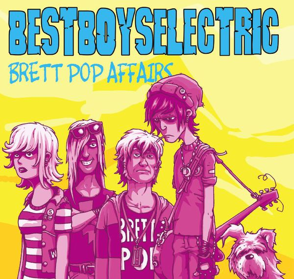 BEST BOYS ELECTRIC, brett pop affairs cover
