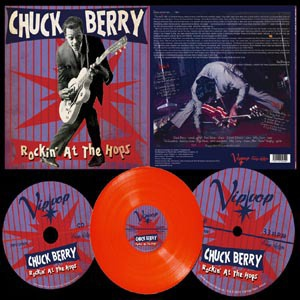 Cover CHUCK BERRY, rockin´ at the hops