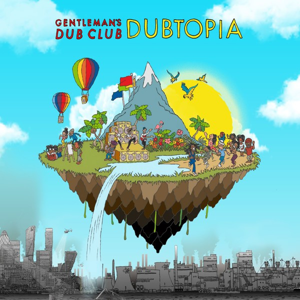 Cover GENTLEMAN´S DUB CLUB, dubtopia
