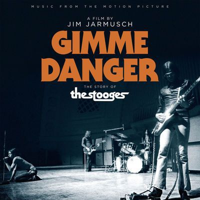 O.S.T. (STOOGES), gimme danger - the story of the stooges cover