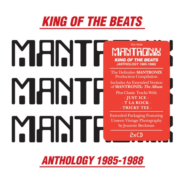 Cover MANTRONIX, king of the beats: anthology (1985-1988)