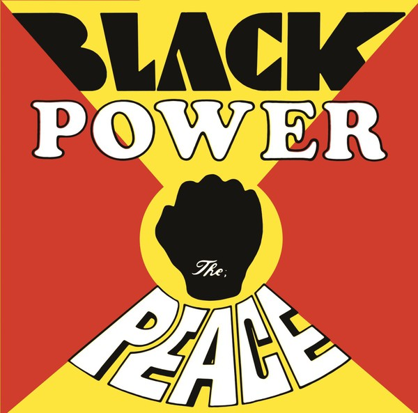 Cover PEACE, black power