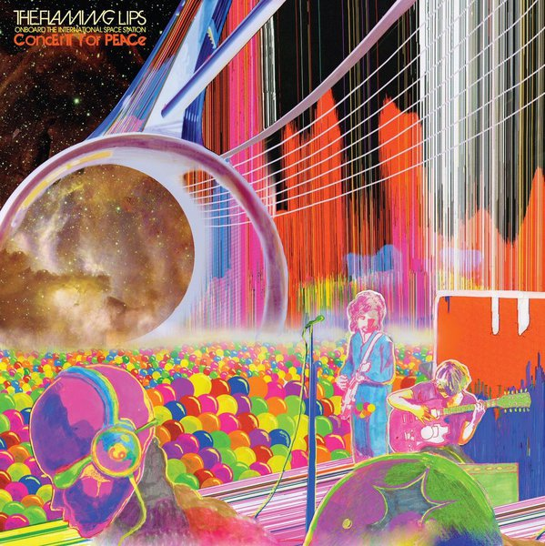 Cover FLAMING LIPS, onboard the international space station