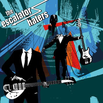 ESCALATOR HATERS, s/t cover
