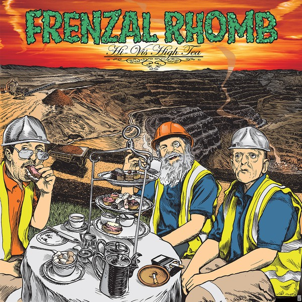 FRENZAL RHOMB, hi-vis high tea cover