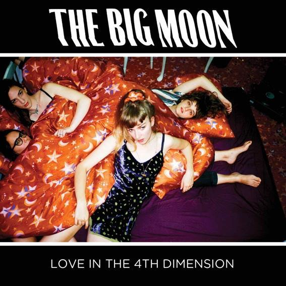 THE BIG MOON, love in the 4th dimension cover