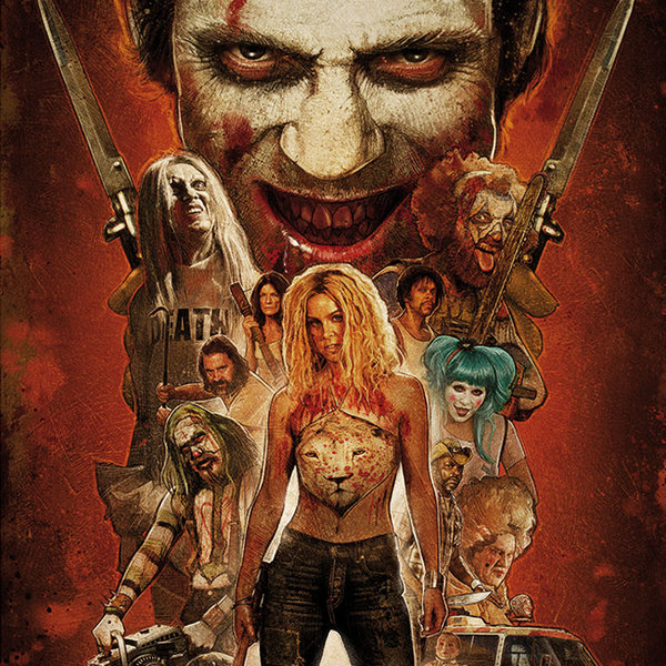 Cover O.S.T., 31 - a rob zombie film