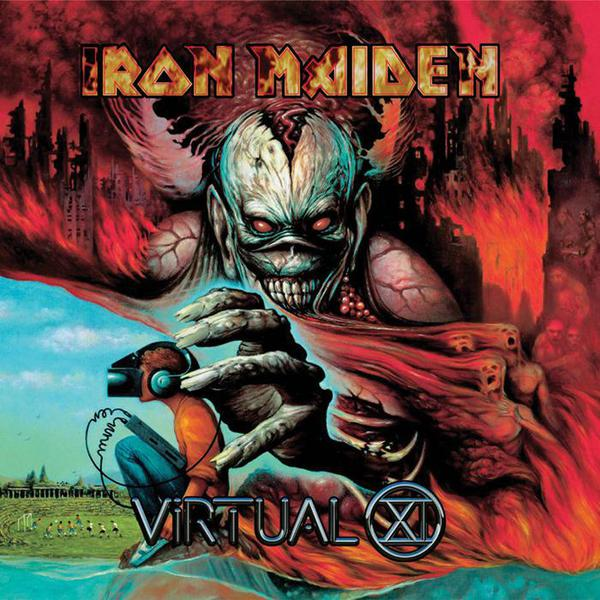 IRON MAIDEN, virtual xi cover