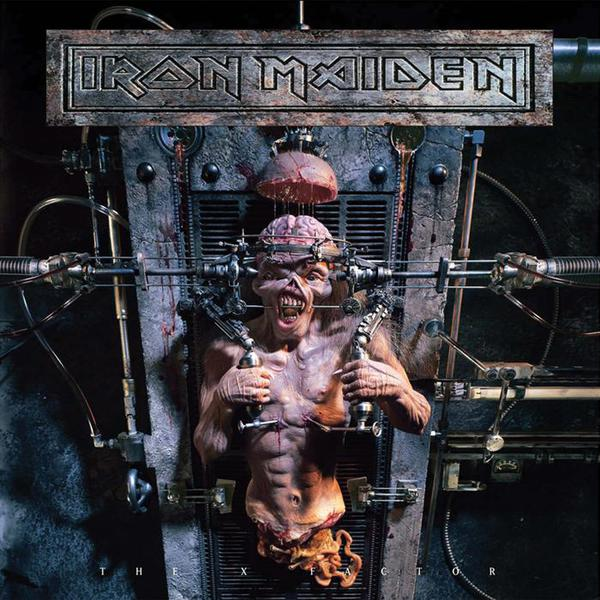 Cover IRON MAIDEN, the x factor