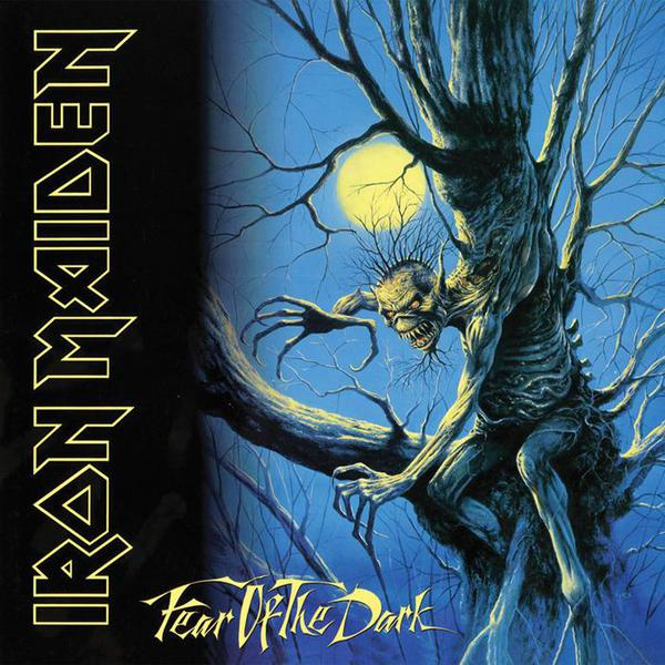 IRON MAIDEN, fear of the dark cover