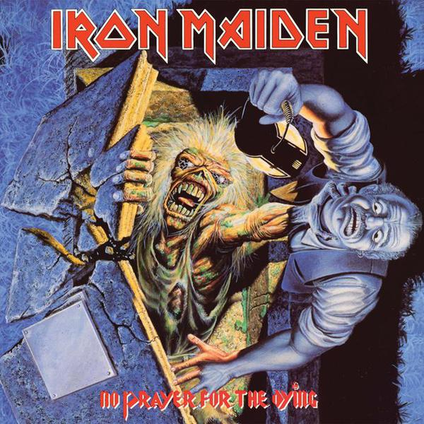 IRON MAIDEN, no prayer for the dying cover