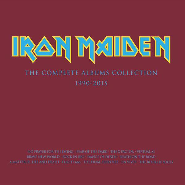 Cover IRON MAIDEN, collectors box incl. no prayer... & fear of ...