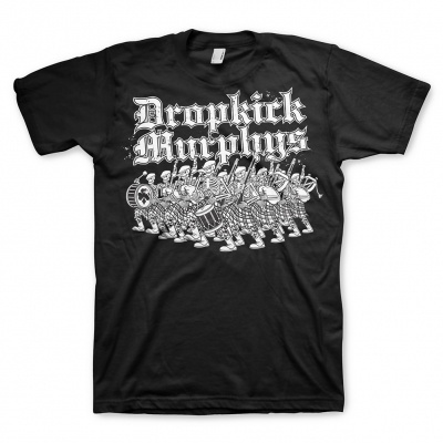 Cover DROPKICK MURPHYS, marching (boy) black