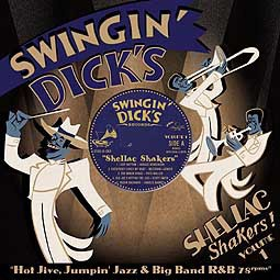 V/A, swingin´ dick´s shellac shakers 01 cover