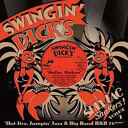 Cover V/A, swingin´ dick´s shellac shakers 02