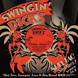 V/A, swingin´ dick´s shellac shakers 01 + 02 cover