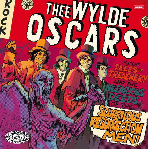 THEE WYLDE OSCARS, tales of treachery and the nefarious deeds cover