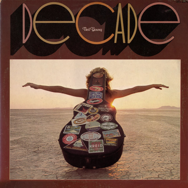 NEIL YOUNG, decade cover