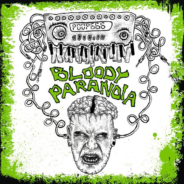 Cover BEN BLOODYGRAVE / BAD TASTE PARANOIA, split