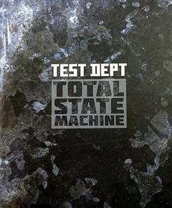 Cover TEST DEPT., total state machine