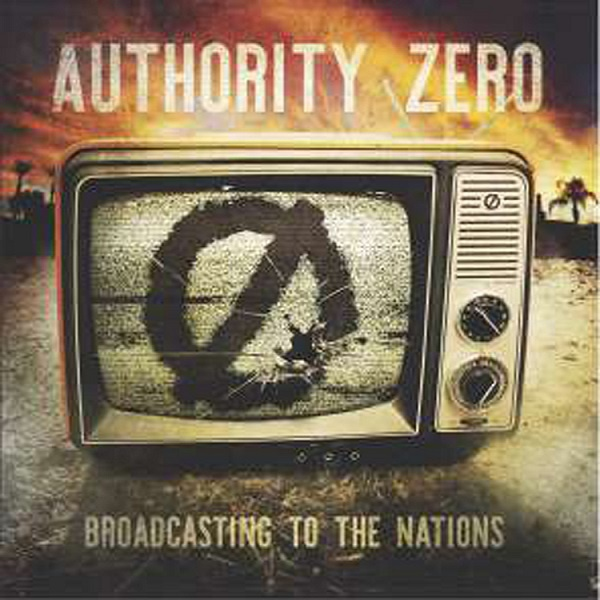 Cover AUTHORITY ZERO, broadcasting to the nations