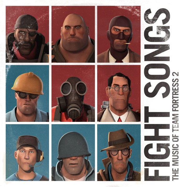 Cover VALVE STUDIO ORCHESTRA, fight songs: music of team fortress 2