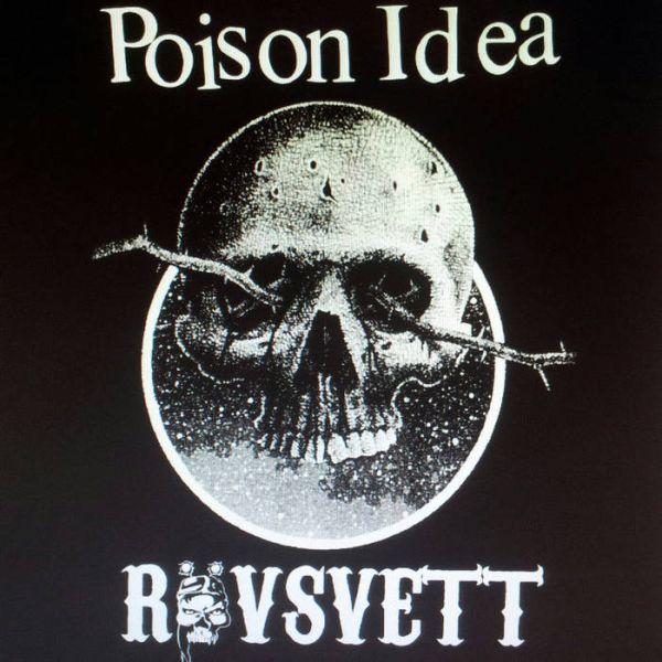 POISON IDEA / ROVSVETT, split cover