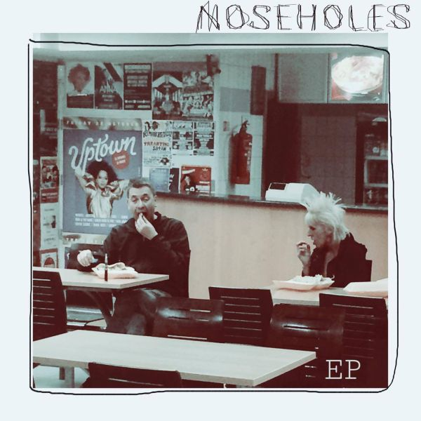 NOSEHOLES, s/t ep cover