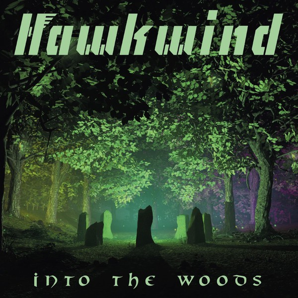 Cover HAWKWIND, into the woods