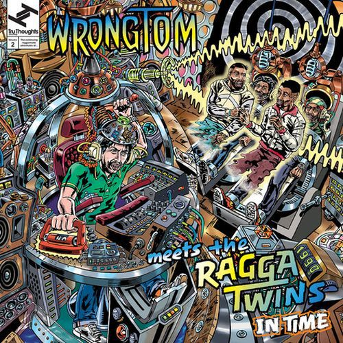 WRONGTOM MEETS RAGGA TWINS, in time cover
