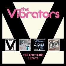 VIBRATORS, epic years 1976-1978 cover