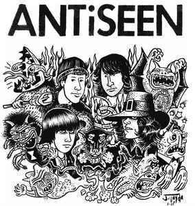 ANTISEEN, the complete drastic sessions cover