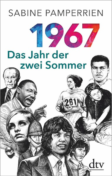 SABINE PAMPERRIEN, 1967: das jahr der zwei sommer cover