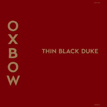 Cover OXBOW, thin black duke