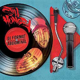 Cover DJ FORMAT & ABDOMINAL, still hungry