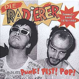 RADIERER, punk! pest! pop! sammelband 1978-1984 cover