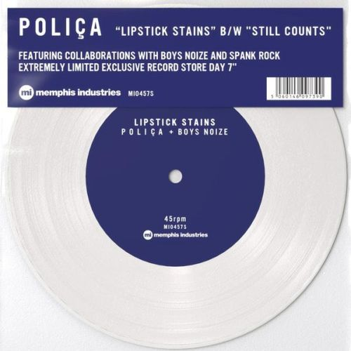 Cover POLICA, lipstick stains