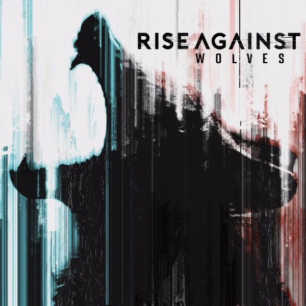 Cover RISE AGAINST, wolves