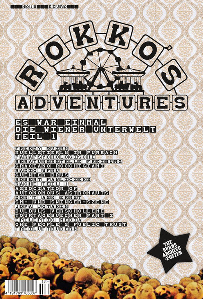 Cover ROKKO´S ADVENTURES, # 18
