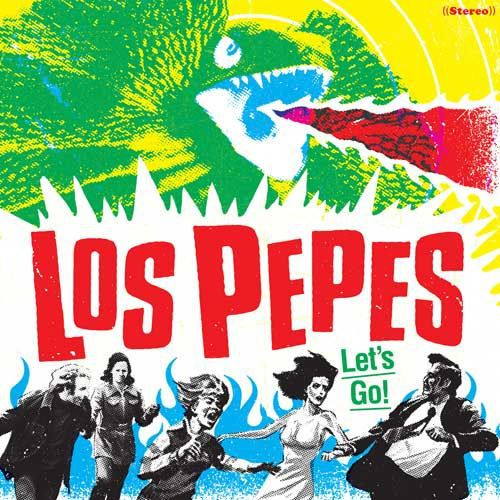 Cover LOS PEPES, let´s go