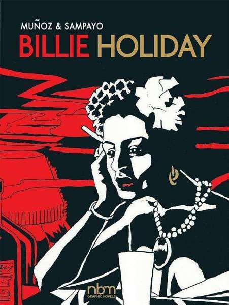 Cover JOSE MUNOZ/CARLOS SAMPAYO, billie holiday