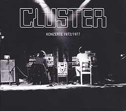 CLUSTER, konzerte 1972/1977 cover
