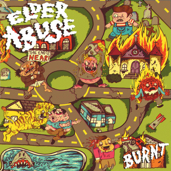 ELDER ABUSE, burn cover