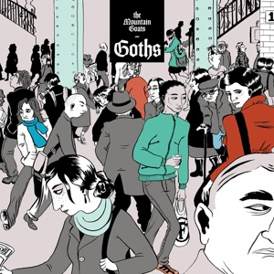 Cover MOUNTAIN GOATS, goths