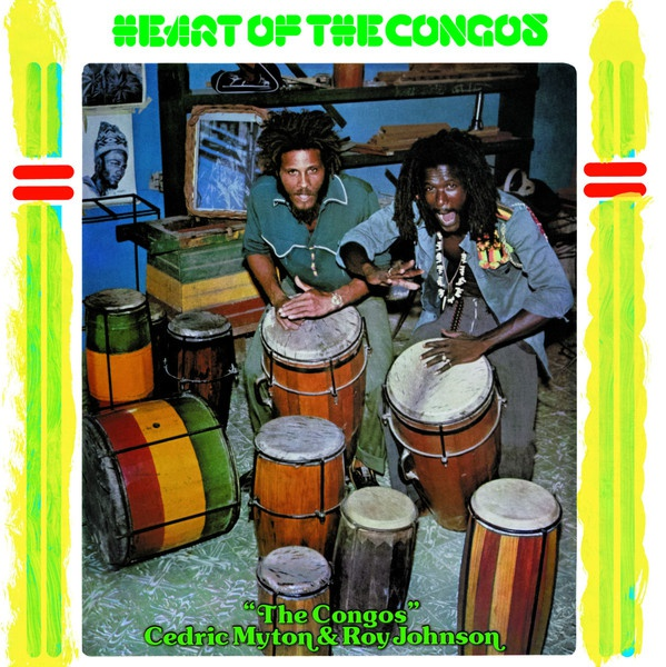 Cover CONGOS, heart of the congos - 40th anniversary edition