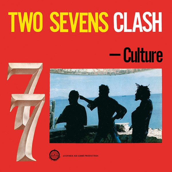 Cover CULTURE, two sevens clash - 40th anniversary edition