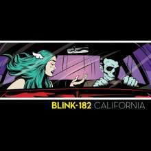 Cover BLINK 182, california - deluxe edition