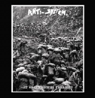 Cover ANTI-SYSTEM, a what price if freedom