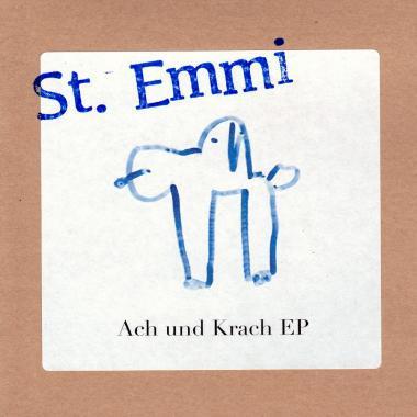 ST. EMMI, ach und krach ep cover